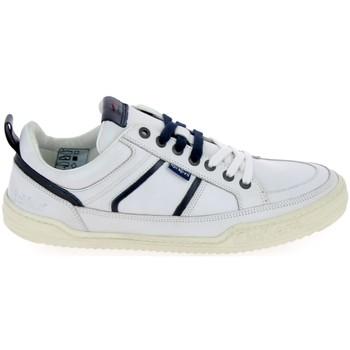 Schoenen Lage sneakers Kickers Jazz Blanc Wit