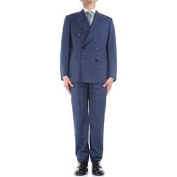 Textiel Heren Kostuums Cesare Attolini S20WA30 B12 Blue