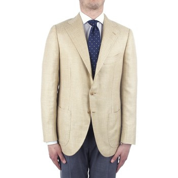Textiel Heren Jasjes / Blazers Cesare Attolini S20MA43 Yellow