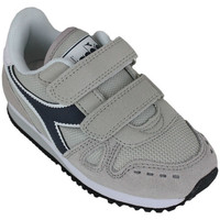 Schoenen Kinderen Lage sneakers Diadora simple run ps 75031 Beige