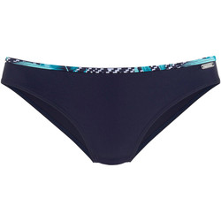 Textiel Dames Bikinibroekjes- en tops Lascana Jane marineblauwe zwembroekjes Blauw Marine