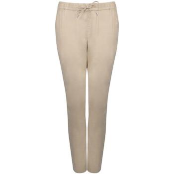 Textiel Dames Trainingsbroeken Gant  Beige