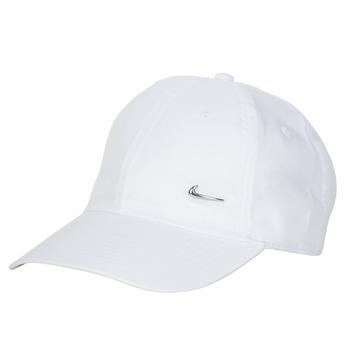 Accessoires Pet Nike U NSW H86 METAL SWOOSH CAP Wit / Zilver