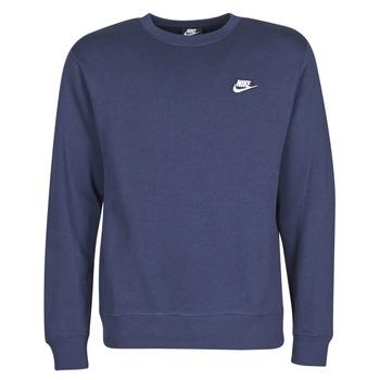 Textiel Heren Sweaters / Sweatshirts Nike M NSW CLUB CRW BB Blauw