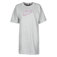 Textiel Dames Korte jurken Nike W NSW DRESS FT M2Z Grijs