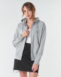 Textiel Dames Sweaters / Sweatshirts Nike W NSW ESSNTL HOODIE FZ FLC Grijs