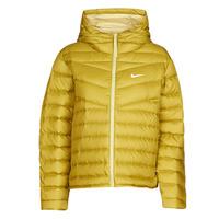 Textiel Dames Dons gevoerde jassen Nike W NSW WR LT WT DWN JKT Kaki