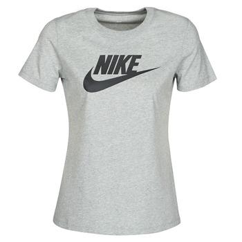 Textiel Dames T-shirts korte mouwen Nike W NSW TEE ESSNTL ICON FUTUR Grijs
