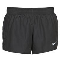 Textiel Dames Korte broeken / Bermuda's Nike W NK 10K SHORT Zwart