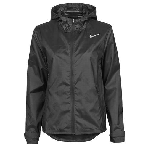 Textiel Dames Windjack Nike W NK ESSENTIAL JACKET Zwart