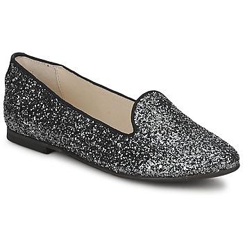 Schoenen Dames Mocassins KMB SILVA Glitter / Grijs