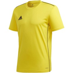 Textiel Heren T-shirts korte mouwen adidas Originals Core 18 Trainingsshirt Geel