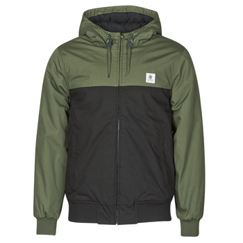 Textiel Heren Wind jackets Element DULCEY TWO TONES Zwart / Kaki