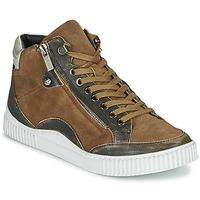Schoenen Dames Hoge sneakers Regard ISLANDE V2 BONGO CHAMOIS Bruin
