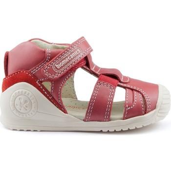 Schoenen Kinderen Sandalen / Open schoenen Biomecanics GIAMO GOMAS LATERALES RED