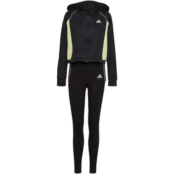 Textiel Dames Trainingspakken adidas Originals Hoodie and Tights Trainingspak Zwart