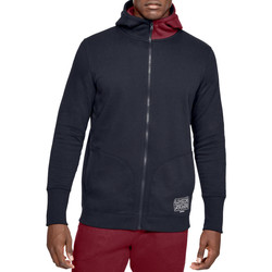 Textiel Heren Sweaters / Sweatshirts Under Armour Baseline Fleece FZ Hoodie 1343006-002