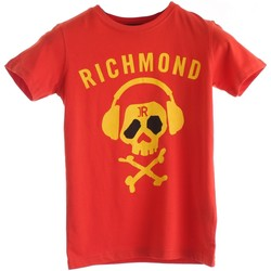 Textiel Jongens T-shirts korte mouwen Richmond Kids RBP20094TS Red