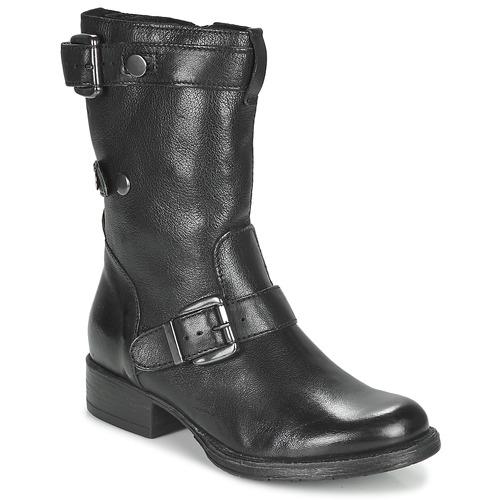 Schoenen Dames Laarzen Dream in Green NARAMEL Zwart