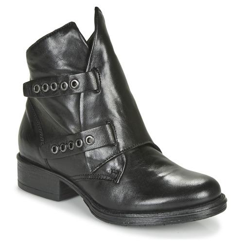 Schoenen Dames Laarzen Dream in Green NIMOVE Zwart