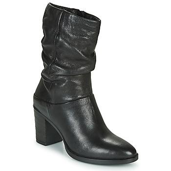 Schoenen Dames Hoge laarzen Dream in Green NORGE Zwart