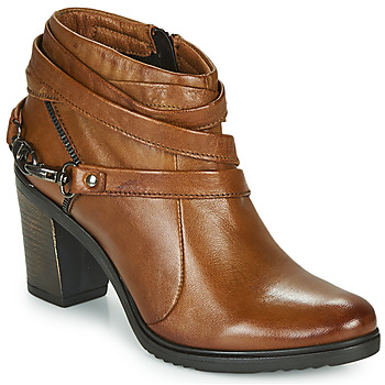 Schoenen Dames Low boots Dream in Green NEGUS Camel