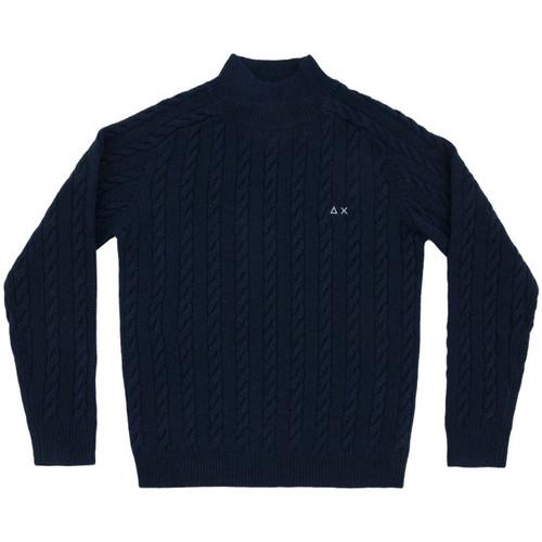 Textiel Heren Truien Sun68  blauwe