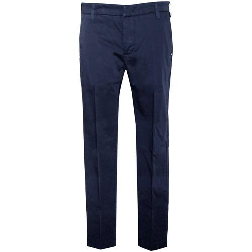 Textiel Heren Broeken / Pantalons Entre Amis  blauwe