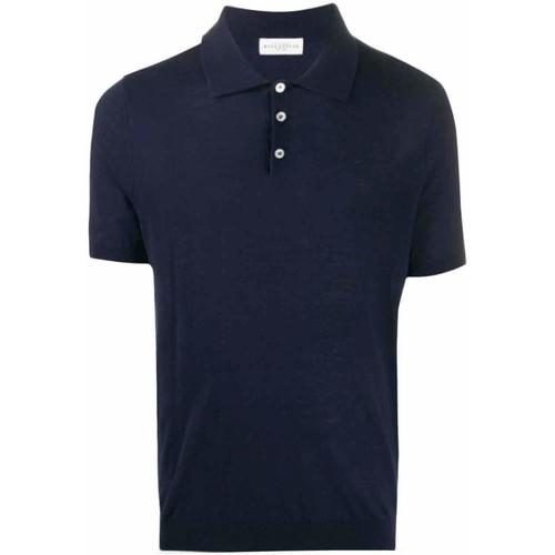 Textiel Heren Polo's korte mouwen Ballantyne  blauwe