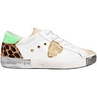Schoenen Dames Lage sneakers Philippe Model  witte