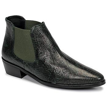 Schoenen Dames Laarzen Fericelli NANARUM Zwart / Groen
