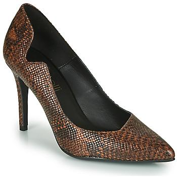 Schoenen Dames pumps Fericelli NANELE Bruin