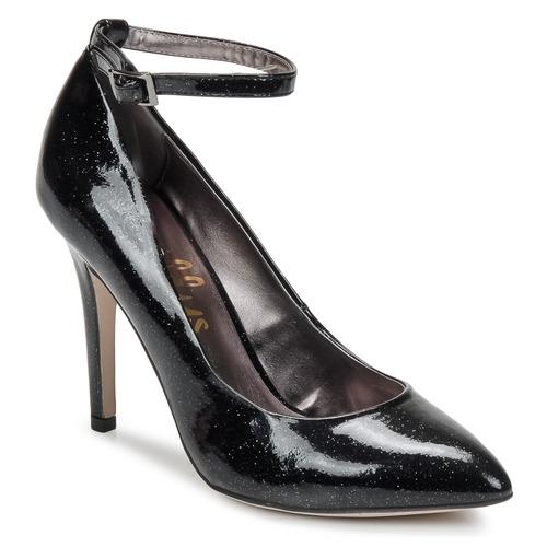 Schoenen Dames pumps Shellys London STAR Zwart / Glitter