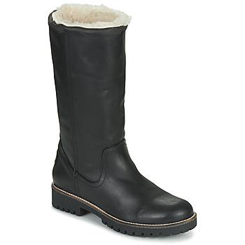 Schoenen Dames Hoge laarzen Casual Attitude NESCAGO Zwart