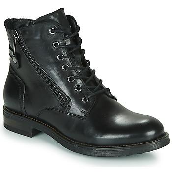 Schoenen Dames Laarzen Casual Attitude NUNAISE Zwart