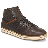 Schoenen Heren Hoge sneakers Casual Attitude NOURDON Bruin