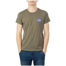 Textiel Heren T-shirts korte mouwen Nasa  Groen