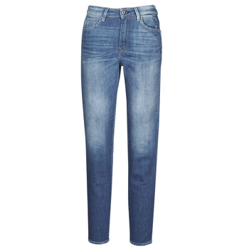 Textiel Dames Straight jeans G-Star Raw 3301 HIGH STRAIGHT 90'S ANKLE WMN Faded / Cobalt