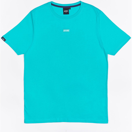 Textiel Jongens T-shirts korte mouwen Wrung T-shirt  Caution Reload bleu turquoise/bleu