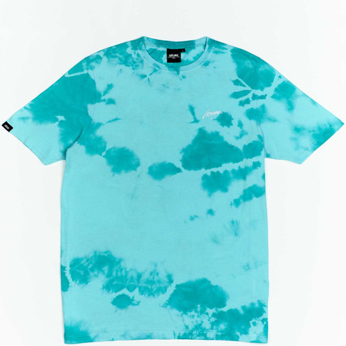 Textiel Jongens T-shirts korte mouwen Wrung T-shirt  New Sign bleu turquoise/blanc/noir