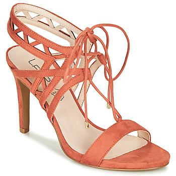 Schoenen Dames Sandalen / Open schoenen Les Petites Bombes MACHA Koraal
