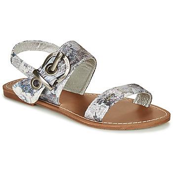 Schoenen Dames Sandalen / Open schoenen Les Petites Bombes PERVENCHE Grijs