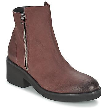 Schoenen Dames Laarzen Vic ASCILLE Bordeau