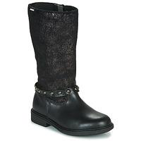 Schoenen Meisjes Hoge laarzen Pablosky 488012 Zwart