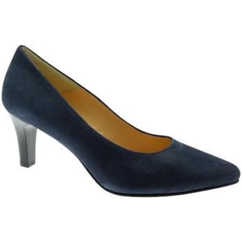 Schoenen Dames pumps Soffice Sogno SOSO20030bl blu