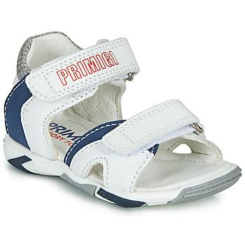 Schoenen Jongens Sandalen / Open schoenen Primigi  Wit