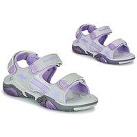 Schoenen Kinderen Outdoorsandalen Kangaroos Sandalshine Grijs / Violet