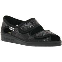 Schoenen Dames Sandalen / Open schoenen Emanuela NERO PANTOFOLA Nero