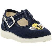 Schoenen Jongens Sandalen / Open schoenen Emanuela BLU SANDALO Blu