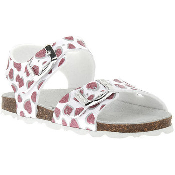 Schoenen Meisjes Sandalen / Open schoenen Grunland BIANCO 40ARIA Bianco